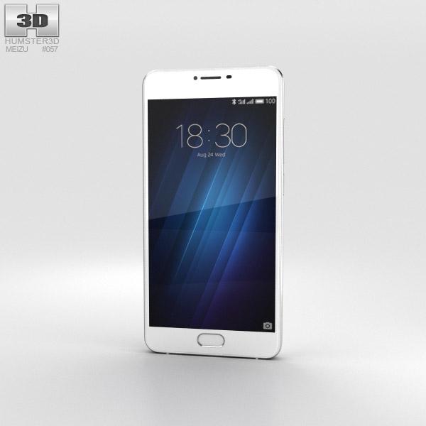 Meizu U10 White 3D model