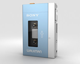 3D model of Sony Walkman TPS-L2
