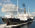 Ferris Cargo Ship 3d model