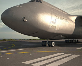 3D model of Lockheed C-5 Galaxy