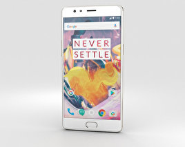 3D model of OnePlus 3T Soft Gold