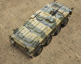 Type 96 Wheeled Armored Personnel Carrier 3d model