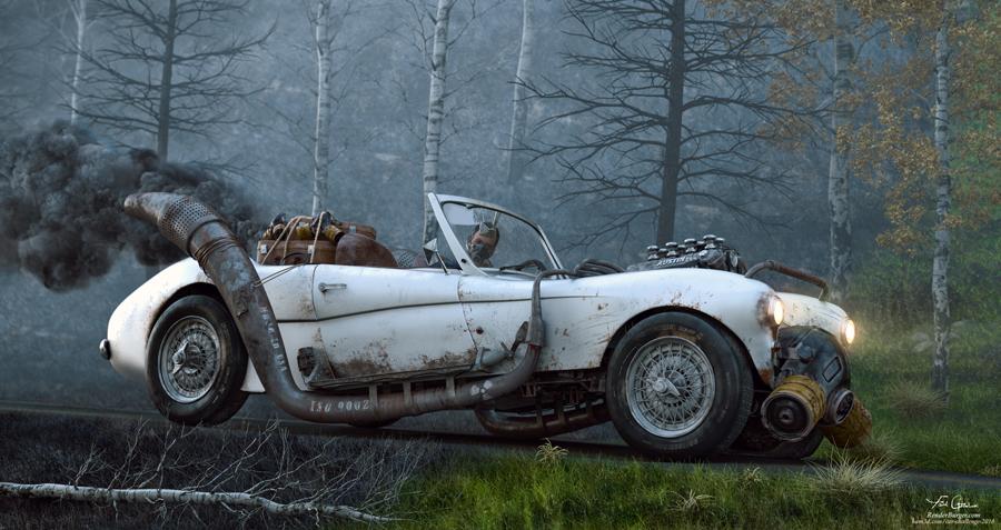 Car Tragedy by Farid Ghanbari