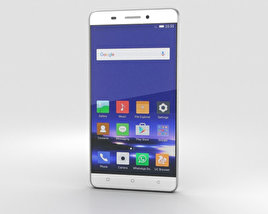 Gionee Marathon M5 White 3D model