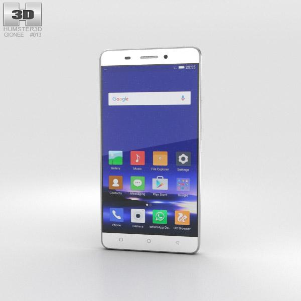 Gionee Marathon M5 White 3D model