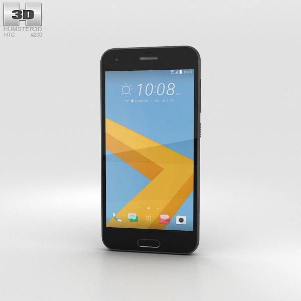 HTC One A9s Black 3D model