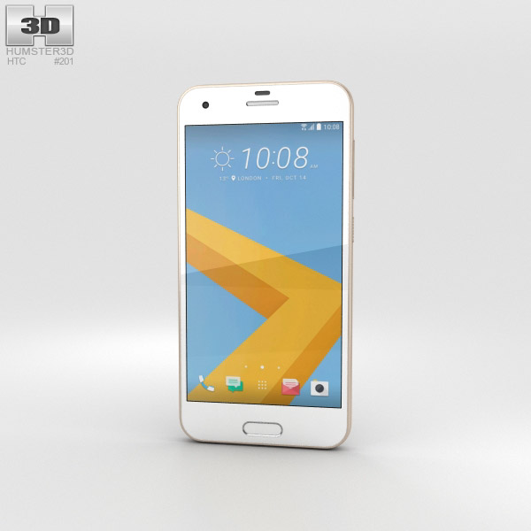 HTC One A9s Gold 3D model