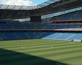 3D model of City of Manchester Stadium