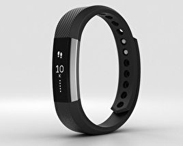 3D model of Fitbit Alta Black/Silver