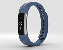 3D model of Fitbit Alta Blue/Silver