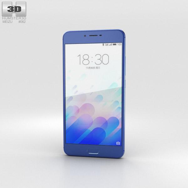 Meizu M3x Blue 3D model