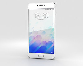 3D model of Meizu M3x Silver