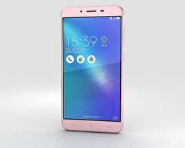 3D model of Asus Zenfone 3 Max (ZC553KL) Rose Pink