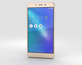 3D model of Asus Zenfone 3 Max (ZC553KL) Sand Gold