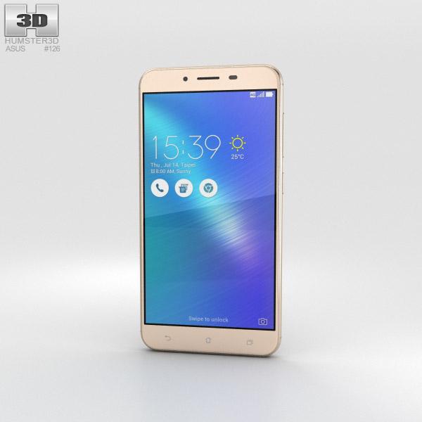 Asus Zenfone 3 Max (ZC553KL) Sand Gold 3D model