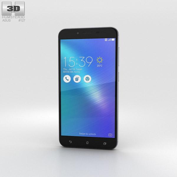 Asus Zenfone 3 Max (ZC553KL) Titanium Gray 3D model