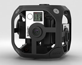 3D model of GoPro Omni