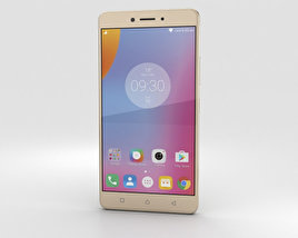 3D model of Lenovo K6 Note Gold