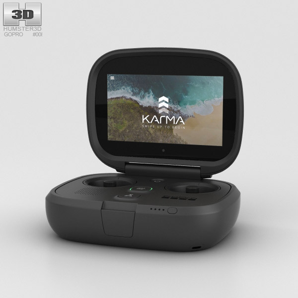 3D model of GoPro Karma Controller