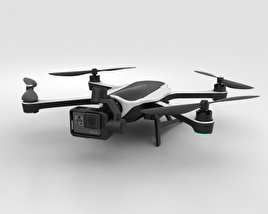 3D model of GoPro Karma Drone
