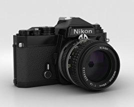 3D model of Nikon FE Black