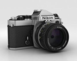 3D model of Nikon FE Silver