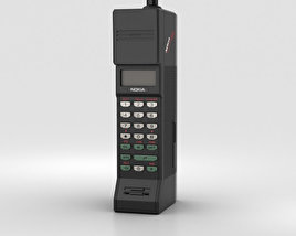 3D model of Nokia Cityman 900