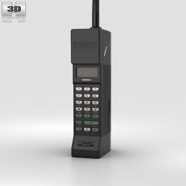 Nokia Cityman 900 3D model