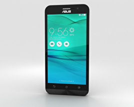 3D model of Asus Zenfone Go (ZB500KL) Charcoal Black
