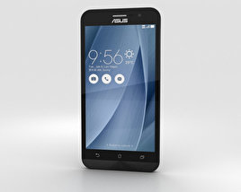 3D model of Asus Zenfone Go (ZB500KL) Glacier Gray