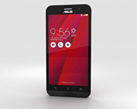 3D model of Asus Zenfone Go (ZB500KL) Glamour Red
