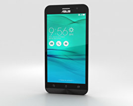 3D model of Asus Zenfone Go (ZB500KL) Pearl White