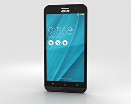 3D model of Asus Zenfone Go (ZB500KL) Silver Blue