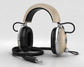 3D model of Koss Pro4AA Headphones
