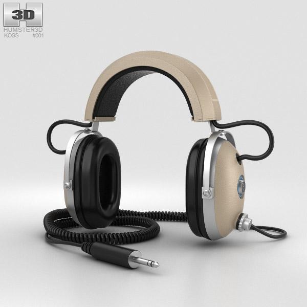 Koss Pro4AA Headphones 3D model
