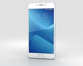3D model of Meizu M5 Note Blue