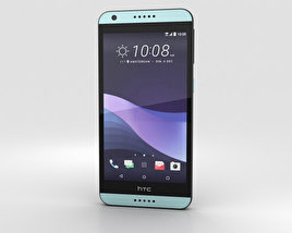 3D model of HTC Desire 650 Dark Blue