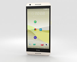 3D model of HTC Desire 650 White