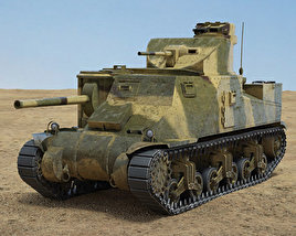 3D model of M3 Lee
