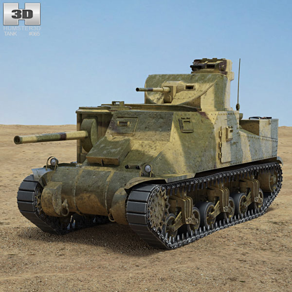 M3 Lee 3D model