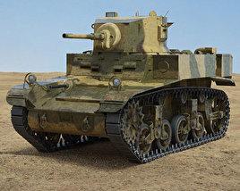 3D model of M3 Stuart