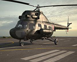 3D model of Mil Mi-2