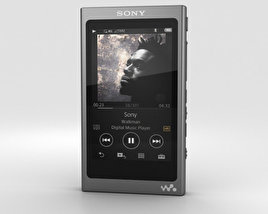 3D model of Sony NW-A35 Black