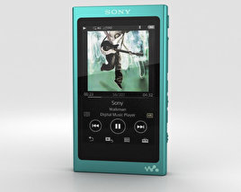 3D model of Sony NW-A35 Green
