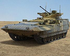 3D model of T-15 Armata