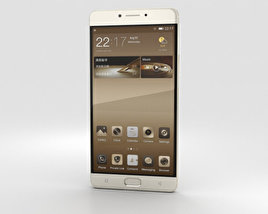 3D model of Gionee M6 Champagne Gold