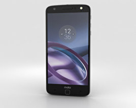 Motorola Moto Z Black Gray with Mophie Juice Pack 3D model