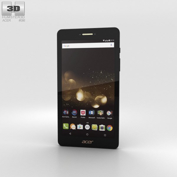 Acer Iconia Talk S 3D model