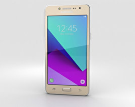 3D model of Samsung Galaxy J2 Prime Gold