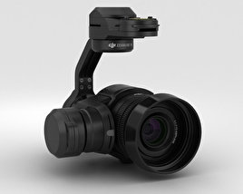 3D model of DJI Zenmuse X5 Camera